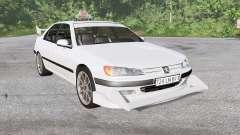 Peugeot 406 Taxi para BeamNG Drive
