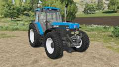 New Holland 40-series exhaust gas smoke changed para Farming Simulator 2017
