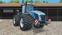 New Holland T9.565 wider tires para Farming Simulator 2015