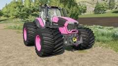 Deutz-Fahr Serie 9 TTV Agrotron color changeable para Farming Simulator 2017