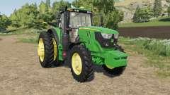 John Deere 6M-series four engines para Farming Simulator 2017