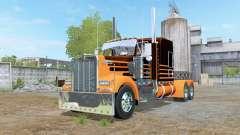 Kenworth W900 6x6 para Farming Simulator 2017