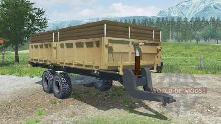MMZ-771 ninasimone-laranja para Farming Simulator 2013