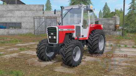 Massey Ferguson 698T dead weight 5300 kg. para Farming Simulator 2017
