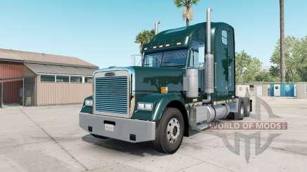 Freightliner Classic XL deep jungle green para American Truck Simulator