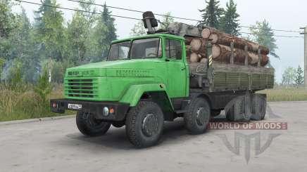 KrAZ-7133Н4 para Spin Tires