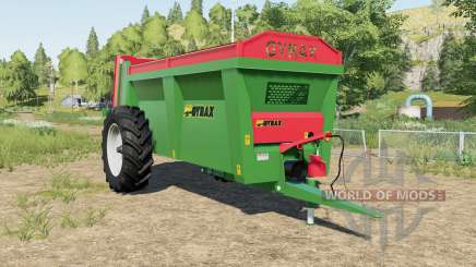 Gyrax EBMX 155 added animation chains para Farming Simulator 2017