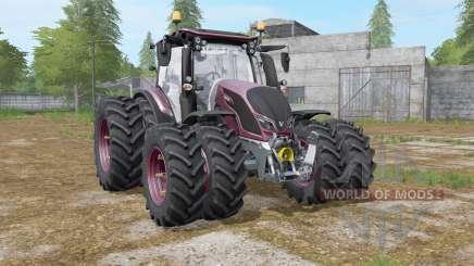Valtra N-series twin wheels para Farming Simulator 2017