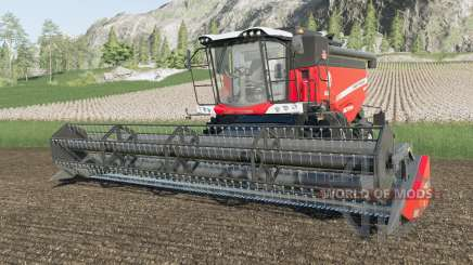 Massey Ferguson 7347 S Activa three logos para Farming Simulator 2017