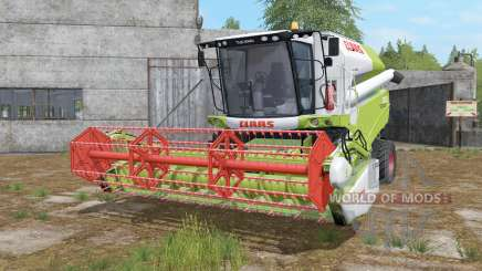 Claas Tucano 320 moving parts in work para Farming Simulator 2017