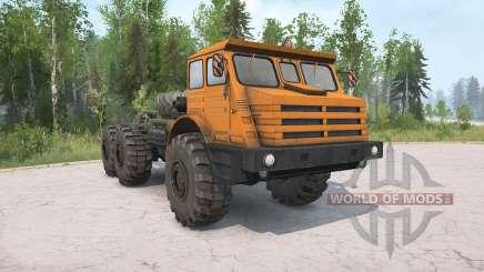 MoAZ-74111 v2.0 para MudRunner