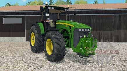 John Deere 8530 ploughing spec para Farming Simulator 2015