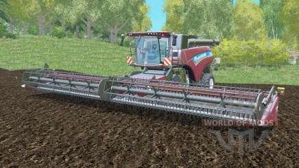 New Holland CR10.90 with the three cutting para Farming Simulator 2015