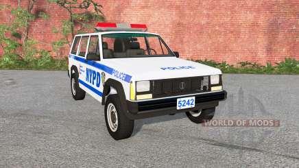 Jeep Cherokee (XJ) Police para BeamNG Drive