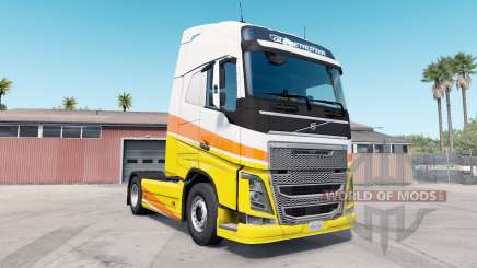 Volvo FH16 Globetrotter XL para American Truck Simulator