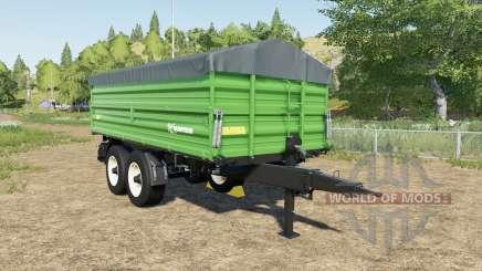 Farmtech TDK 1600 choice color para Farming Simulator 2017