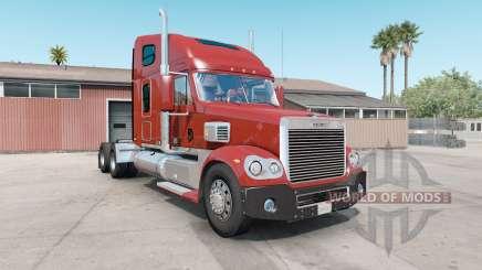 Freightliner Coronado dark pastel red para American Truck Simulator