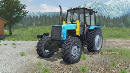MTZ-1221 Bielorrússia trator com um carregador de para Farming Simulator 2013