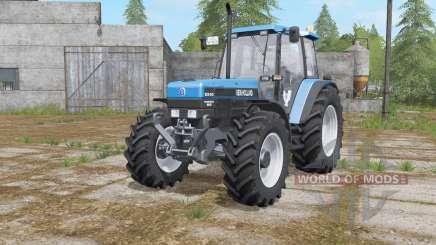 New Holland 8340 rich electric blue para Farming Simulator 2017