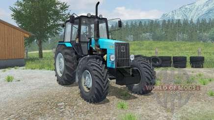 MTZ-Bielorrússia 1221В com um carregador de Laumetris para Farming Simulator 2013