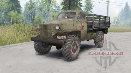 GAZ-63 1943 para Spin Tires