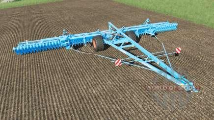 Lemken Gigant 12S-1600 Heliodor 9 plow para Farming Simulator 2017
