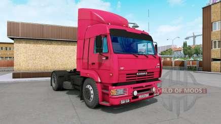 KamAZ-5460 vermelho brilhante para Euro Truck Simulator 2