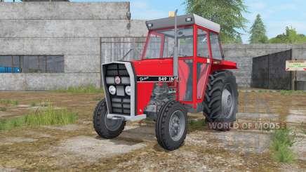 IMT 549 DeLuxe light brilliant red para Farming Simulator 2017
