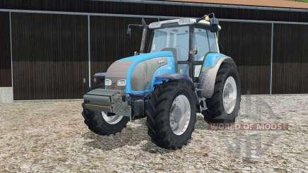Valtra T140 process cyan para Farming Simulator 2015
