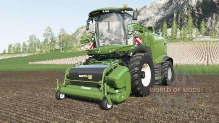 Krone BiG X 1180 increased transfer rate para Farming Simulator 2017