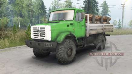 ZIL-4334 4x4 para Spin Tires