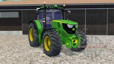 John Deere 6150R FL console para Farming Simulator 2015