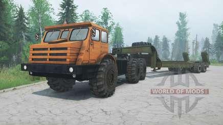 MoAZ-74111 para MudRunner