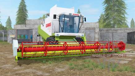 Claas Lexion 480 animated display para Farming Simulator 2017