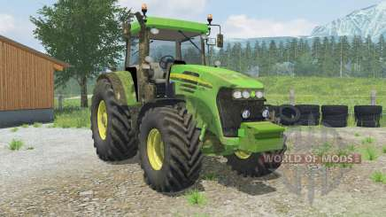 John Deere 7820 manual ignition para Farming Simulator 2013