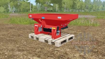 Rauch MDS 19.1 rotating plates para Farming Simulator 2017