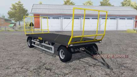 Wielton PRS-2S-S9 folding front and rear wall para Farming Simulator 2013