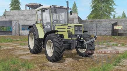 Hurlimann H-488 Turbo more exhaust smoke para Farming Simulator 2017