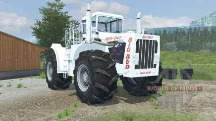 Big Bud 16V-747 change wheels para Farming Simulator 2013