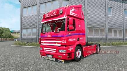 DAF CF Geranco v1.1 para Euro Truck Simulator 2