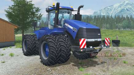 Case IH Steiger 600 hazard lights para Farming Simulator 2013