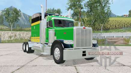Peterbilt 388 tricolor para Farming Simulator 2015