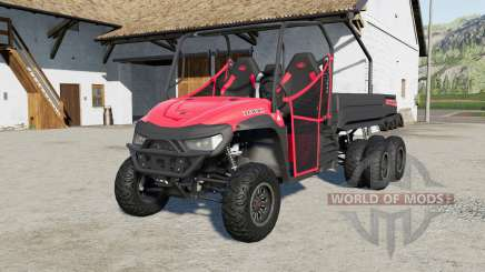 Mahindra Retriever long 6x6 para Farming Simulator 2017