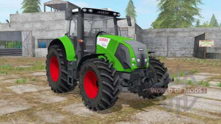 Claas Axion 820 islamic green para Farming Simulator 2017