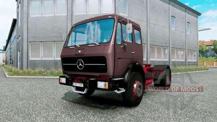 Mercedes-Benz NG 1632 burnished brown para Euro Truck Simulator 2