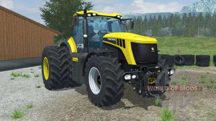 JCB Fastrac 8310 dual rear wheels para Farming Simulator 2013