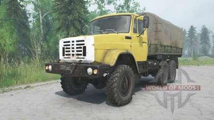 ZIL-4334 cor amarela para MudRunner