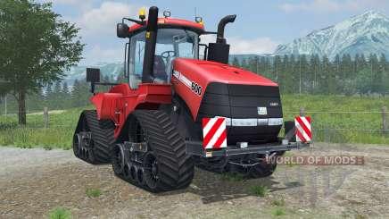 Case IH Steiger 600 Quadtrac light brilliant red para Farming Simulator 2013