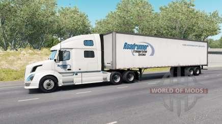 Painted Truck Traffic Pack v3.1 para American Truck Simulator