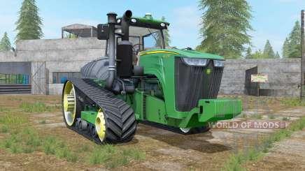 John Deere 9RT shamrock green para Farming Simulator 2017